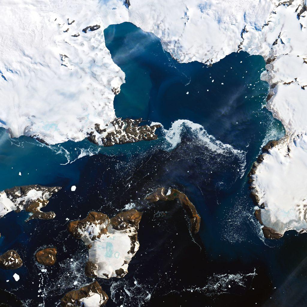 Eagle Island after icemelt