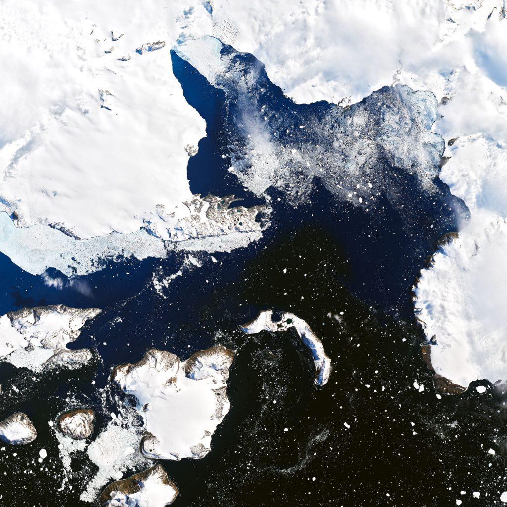 Eagle Island before ice melt
