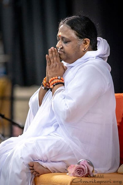 Ammachi at Prayer
