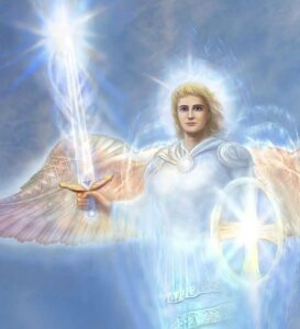 the archangel Mikael