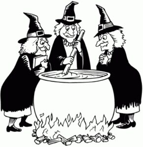 witches and cauldrons