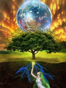 Mother Earth and the One Tree