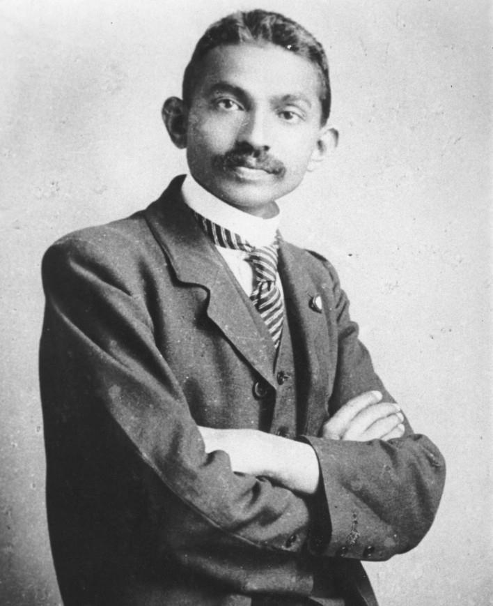 Gandhi, South Africa, circa 1909